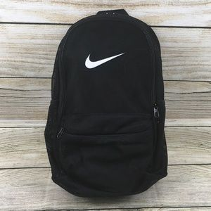 new york beautiful in colour new style Nike Black Mesh Backpack NWT